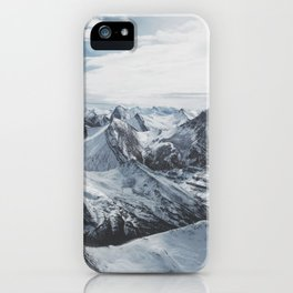 Snowy Mountains of Alberta iPhone Case