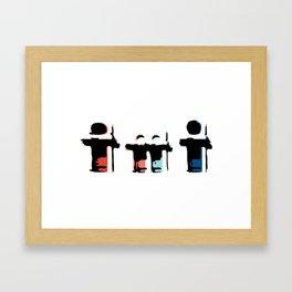 Familia Framed Art Print