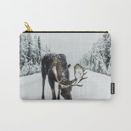 moose #society6 #decor #buyart Carry-All Pouch