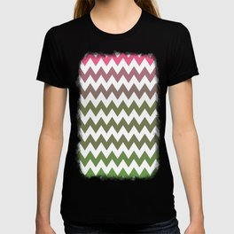 Pink Roses in Anzures 3 Chevron 2 T-shirt