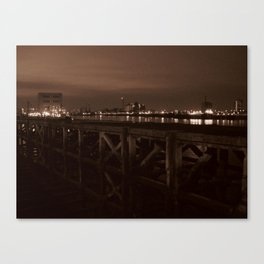Thames Crossing - Woolwich Ferry Canvas Print