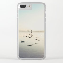 San Diego Scripps Beach Clear iPhone Case