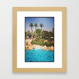 Para-Paradise  Framed Art Print