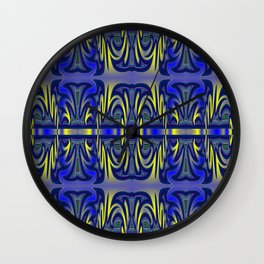 Mm - patten 2 Wall Clock