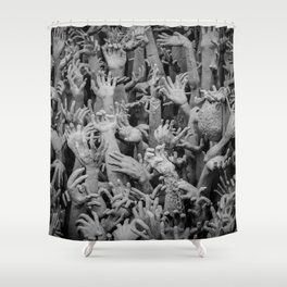 The White Temple - Thailand - 006 Shower Curtain