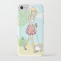 icecream iPhone & iPod Cases featuring Icecream by Marisa Marín