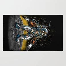 Texas Chainsaw Astronaut Rug
