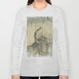 """PIANO. A SERIES OF WORKS """"MUSIC OF THE RAIN"""" Long Sleeve T-shirt"""