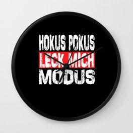 Hocus Pocus Mode - Hocus Pocus Lick Me Mode Wall Clock