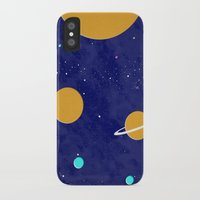solar system iPhone & iPod Cases featuring Solar System by Quinn Shipton