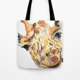 Hi giraffe Tote Bag