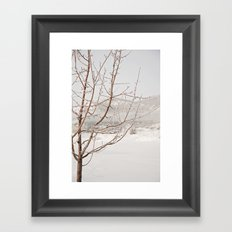 a long winter Framed Art Print