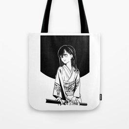 black moon girl Tote Bag