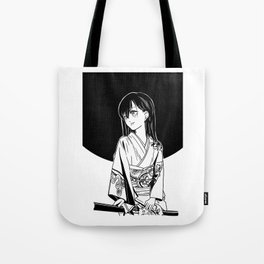 black moon girl Tote Bag