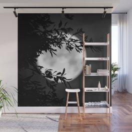 Full Moon Leaves Wall Mural