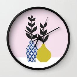 Floral Vase No.1 Wall Clock