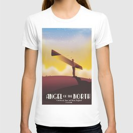 Angel of the North Travel poster. T-shirt