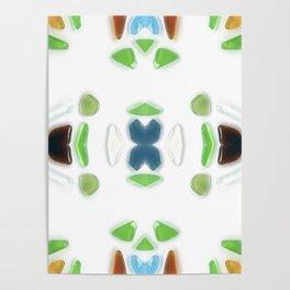 Sea Glass 6 Poster