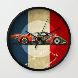 Le Mans 787B Vintage Wall Clock