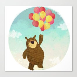 The Bear. Canvas Print