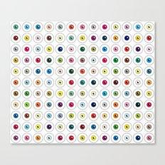 Through Damien Hirst's Eyes Canvas Print