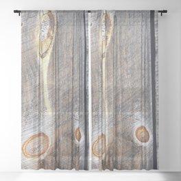 Barn G Sheer Curtain
