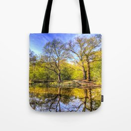 The Tranquil Pond Tote Bag