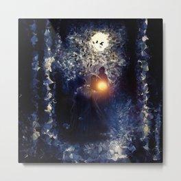 The Necromancer, by Paul Kimble & Viviana Gonzalez Metal Print