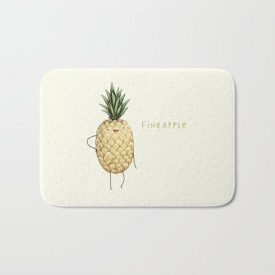 Fineapple Bath Mat