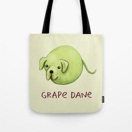 Grape Dane Tote Bag