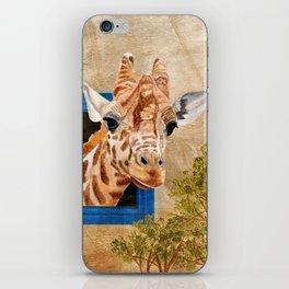 Suddenly A Giraffe iPhone Skin