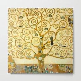 """Gustav Klimt """"Tree of life"""" Metal Print"""