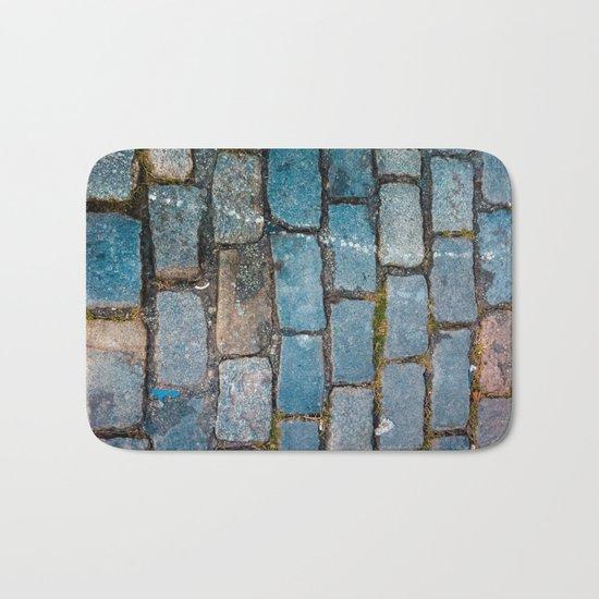 Rocks on the streets Bath Mat