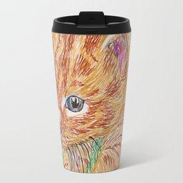 Kitten in grass Travel Mug