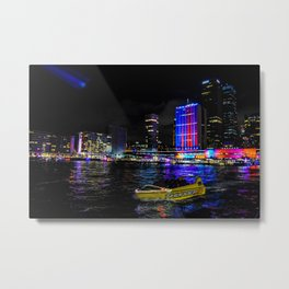 Bright City Metal Print