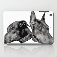 doberman iPad Cases featuring Doberman by G Boutique