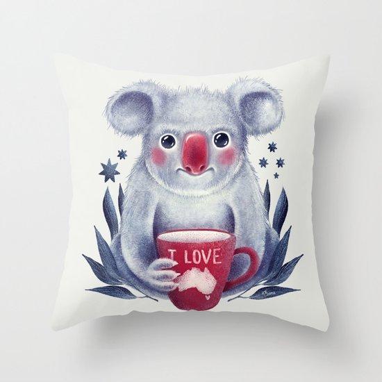 I♥Australia Throw Pillow