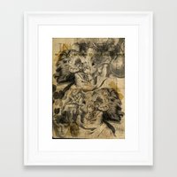 inception Framed Art Prints featuring Inception by Gelgezek