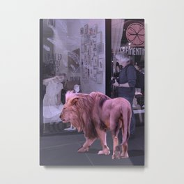 Searching the Beauty. African Invasion Metal Print