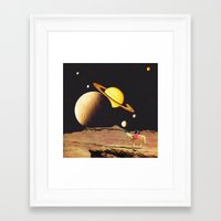 western Framed Art Prints featuring Western Space by Mariano Peccinetti