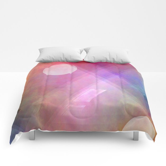 Multicolored abstract no. 44 Comforters