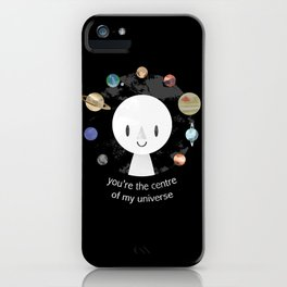 Centre of my Universe iPhone Case
