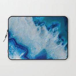 Royally Blue Agate Laptop Sleeve