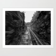 funicular Art Print