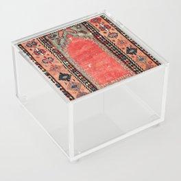 Sivas  Antique Cappadocian Turkish Niche Kilim Print Acrylic Box