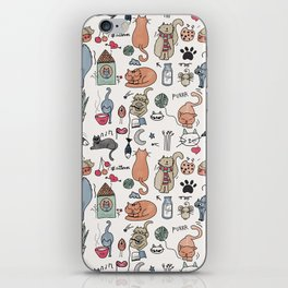 Cats Life iPhone Skin