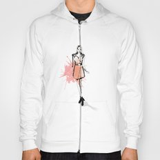 Coral Fashion Hoody