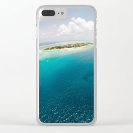 Dreams of small islets Clear iPhone Case