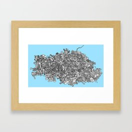 Satellite Graveyard Framed Art Print