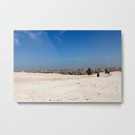 Sand City Sky Metal Print